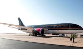 طائرة اردنية تنقل مسافرين فلسطينيين الى نيويورك.jpg