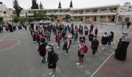 طلبة المرحلة الابتدائية في المدارس الحكومية يعودون لمدارسهم (5).jpeg