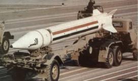 صواريخ العراق البالسيتية على اسرائيل.jpg