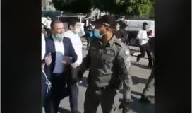 اشتباكات بالأيدي بين شرطة الاحتلال والحريديم في أسدود.JPG