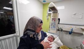 الأسير محمد القدرة يرزق بطفل من نطفة مهربة (2).jpeg
