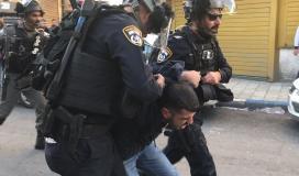 قوات الاحتلال تعتقل شابًا في الشيخ جراح
