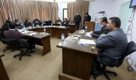 رئيس بلدية دير البلح يستقبل الوكيل ابو راس للاطلاع على سير العمل