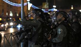 إصابة عشرات الشبان في مواجهات مع قوات الاحتلال في القدس