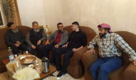 الجهاد تؤم منزل الشيخ المرحوم زياد شعيبات