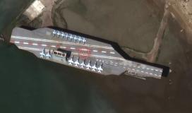 حاملة الطائرات الامريكية في الخليج.JPG