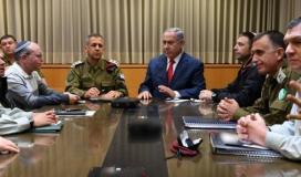 """نتنياهو سيعقد اجتماعًا  الليلة مع أعضاء """"الكابينت"""" لمناقشة وقف العدوان على غزة"""