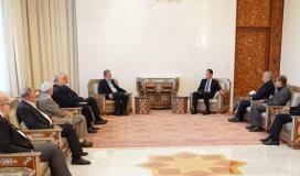 خلال استقبال الرئيس الأسد .jpg