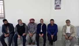 """""""الجهاد"""" الإسلامي يقدم واجب العزاء لعائلة الشهيد عودة في نابلس"""