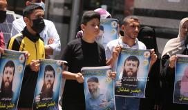 مهجة القدس تنظم وقفة دعم واسناد للشيخ خضر عدنان الذي اعتقلته قوات الاحتلال فجراً (15).JPG