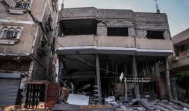 """الاورومتوسطي يدين القصف """"الإسرائيلي"""" العنيف على غزة ويطالب بضمها للتحقيقات الدولية الجنائية"""