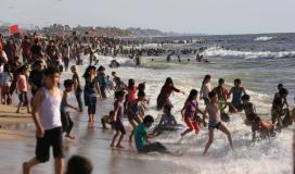 هل بحر غزة آمن للسباحة؟