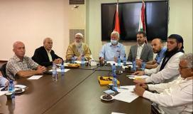 هيئة العمل الفلسطيني المشترك في لبنان تدعو للحفاظ على الوحدة الوطنية الفلسطينية