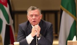 تفاصيل مكالمة رئيس الاحتلال مع الملك الأردني عبدالله الثاني