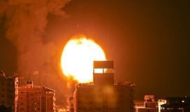 طائرات الاحتلال تقصف موقعًا جنوب غرب غزة
