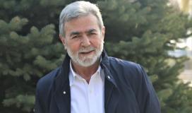 القائد زياد النخالة الأمين العام لحركة الجهاد الإسلامي في فلسطي