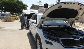 إدخال 125 مركبة جديدة إلى قطاع غزة