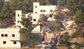 هدم منازل المواطنين في الخليل