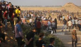 مسيرة حاشدة على حدود خانيونس جنوب قطاع غزة (29).JPG