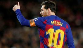 برشلونة يقرر حجب رقم ميسي