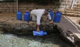ازمة مياه في لبنان.