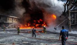 حريق وسط ايران.jpg
