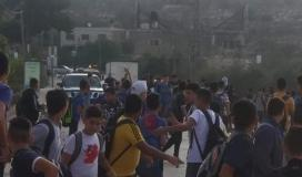 الاحتلال يعتدي على طلبة اللبن الشرقية ويمنعهم من الوصول إلى مدرستهم (1).jpeg