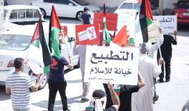 البحرين ضد التطبيع.