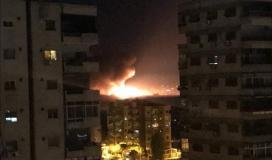 قصف اسرائيلي على سورية