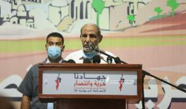 الدكتور محمود الزهار عضو المكتب السياسي لحركة حماس