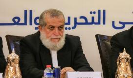 الشيخ نافذ عزام، عضو المكتب السياسي لحركة الجهاد الإسلامي في فلسطين