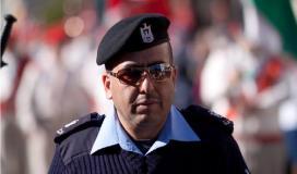 لؤي ازريقات المتحدث باسم الشرطة في الضفة الغربية