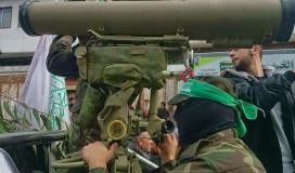 """""""القسام"""" تعرض مشاهد لاستهدافها حافلة لنقل جنود صهاينة شمال قطاع غزة"""