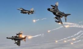 مناورة جوية عسكرية في السماء (تعبيرية)
