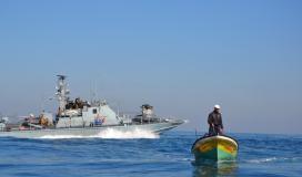 زوارقزوارق الاحتلال تطلق النيران اتجاه مراكب الصيادين في شمال غزة