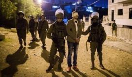 قوات الاحتلال تعتقل عددًا من المواطنين في القدس وجنين