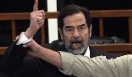 صدام حسين الرئيس العراقي السابق