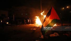 مسيرات غاضبة في جنين عقب استشهاد الشاب يزن أبو طبيخ وسط مواجهات عنيفة (5)