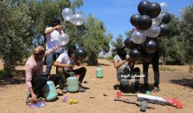 بالونات حارقة ومتفجرة تجاه المستوطنات (25)