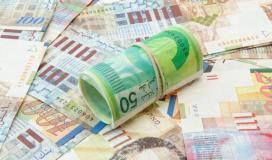سعر صرف الدولار مقابل الشيكل اليوم في فلسطين