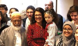 النائبة في الكونغرس الأمريكي رشيدة طليب من أصل فلسطيني