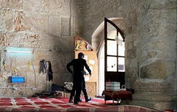 قوات الاحتلال تقتحم مصلى باب الرحمة في المسجد الاقصى