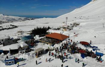المنخفض الجوي في لبنان