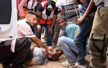 إصابة خطرة لشاب بمواجهات مع الاحتلال في النبي صالح