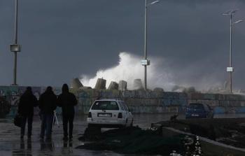 طقس غزة - منخفض - امطار