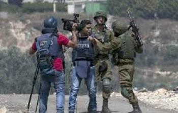 قوات الاحتلال تحتجز عددًا من الصحفيين في الاغوار الشمالية