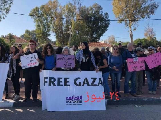 مستوطنون يطالبون برفع الحصار الإسرائيلي عن غزة